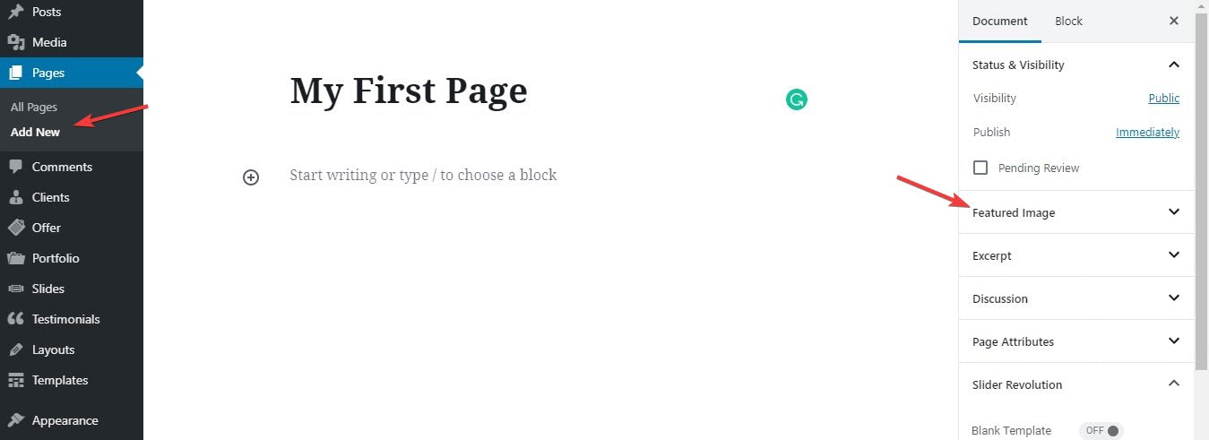 How to Start a Blog: Create Pages and Posts