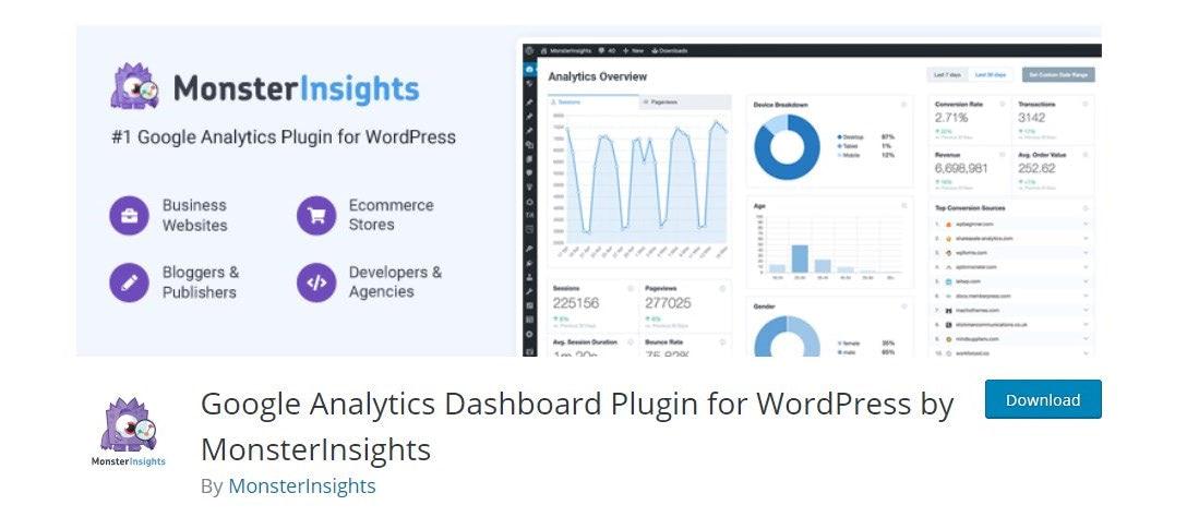 Best Traffic Analytics WordPress Plugin