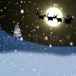 Silhouettes_Of_Santa_poster
