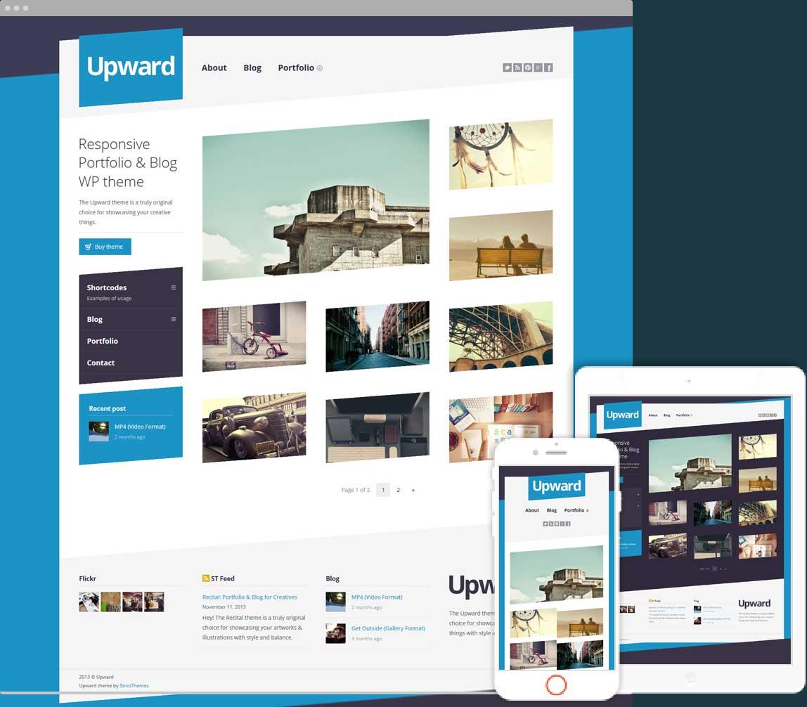 Upward Experimental Portfolio & Blog